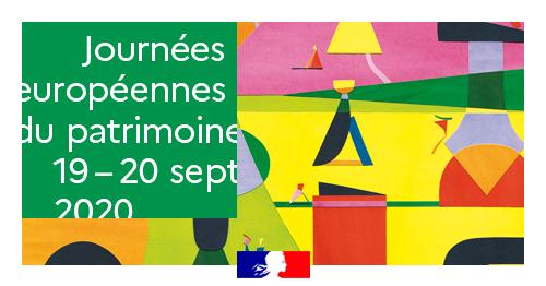 Affiche des Journées Européennes du Patrimoine 2020