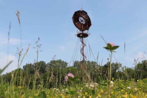 L'éolienne du Parc du Moulin à Tan