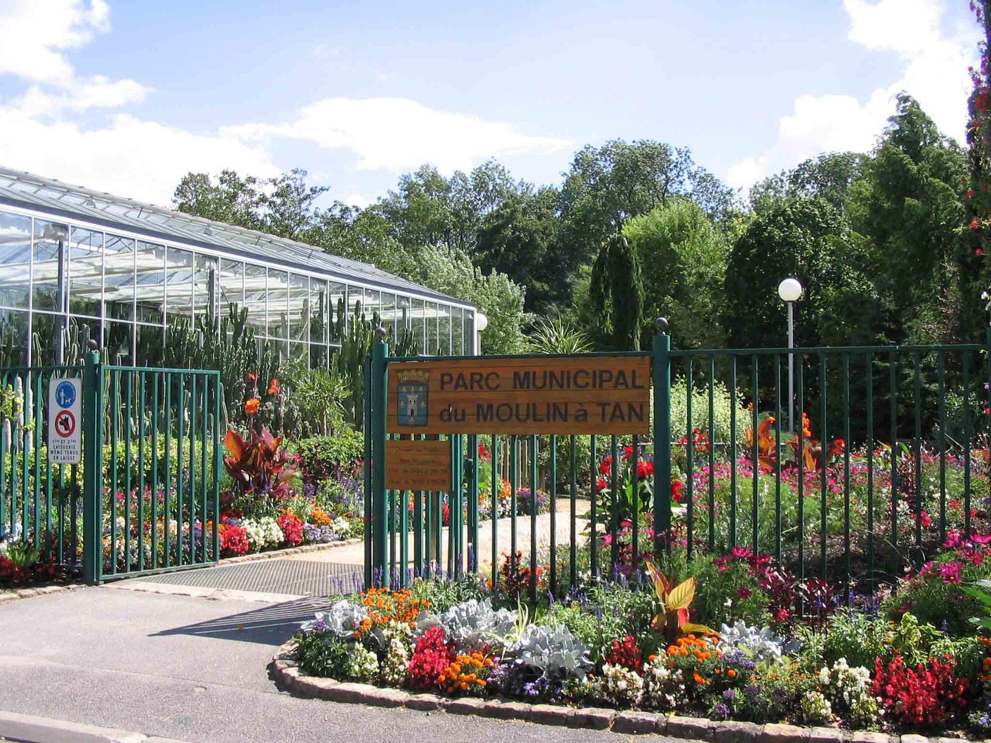 foto de Parc du Moulin à Tan et Serres de Collections Tropicales - Sens et ...